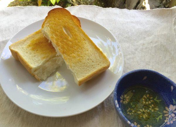 オリーブオイルとゆず胡椒のマリアージュ