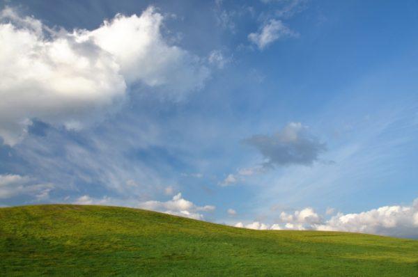 まろやかな丘