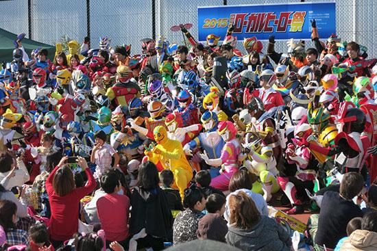 千葉で全国ヒーローと握手!「日本ローカルヒーロー祭」が開催 元戦隊ユニットも参戦