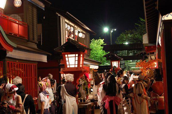 COS-PATIO in 太秦上洛祭り 過去開催の様子3