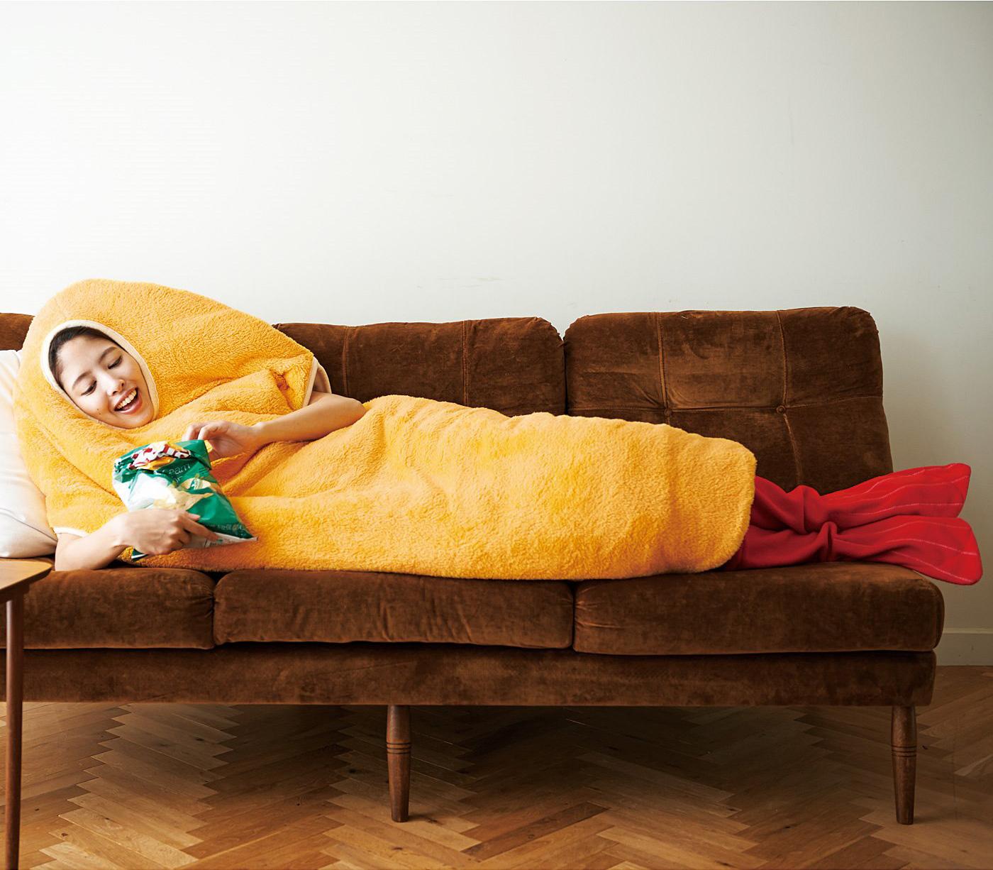 エビフライになれる寝袋が斜め上で欲しくなる