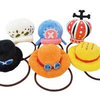 ワンピース、ルフィやエースの帽子がヘアゴムに!全…