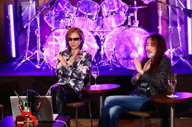 X JAPAN・PATA、YOSHIKIニコ生番組で9か月ぶりにファンの前へ
