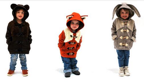 英ブランドのお子さん用ケモミミコートが超絶可愛い