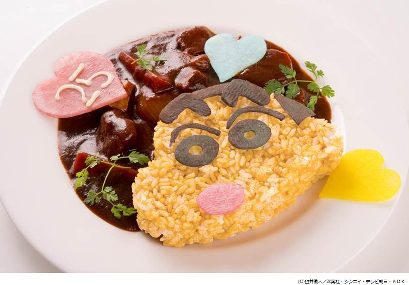 みさえの手抜き料理を参考。『クレヨンしんちゃん』コラボカフェ