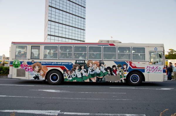 ※写真は過去運行したラッピングバスです。