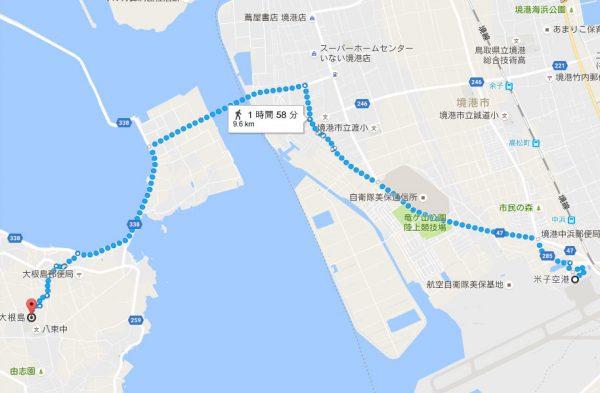 (Googleマップより。)