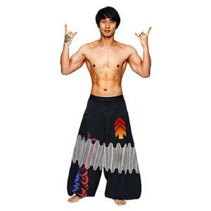 大川さんの体部分