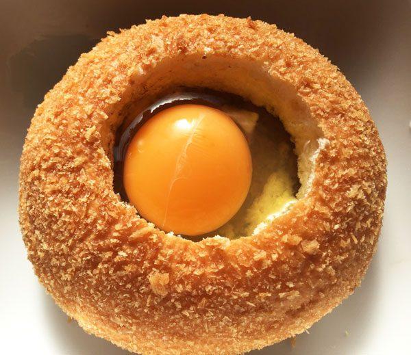 卵入りまーす。本当はチーズも入りまーす。