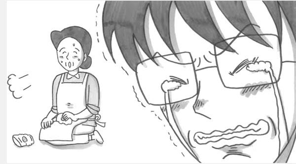 亡くなった人への手紙を鉄拳がパラパラ漫画化 新作「母のサポーター」に思わず目がにじむ