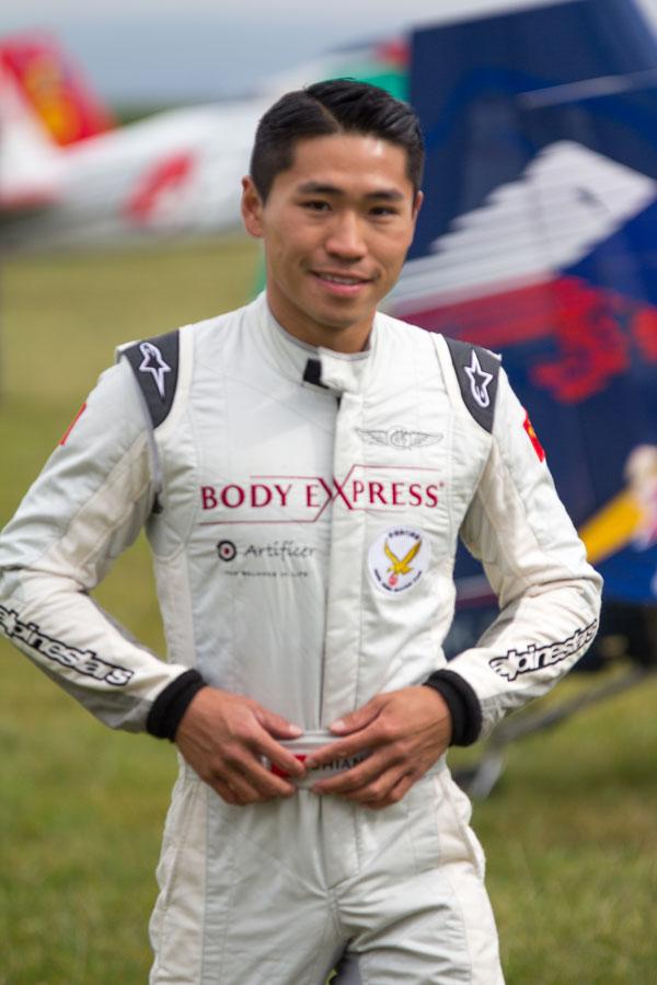 香港のケニー・チャン(蒋霆)選手(Photo: FAI / Marcus King)