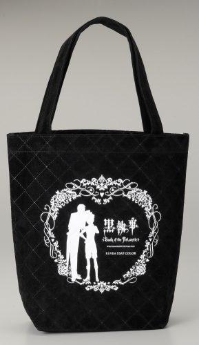 ベルベット風キルティング加工のオリジナルバッグ