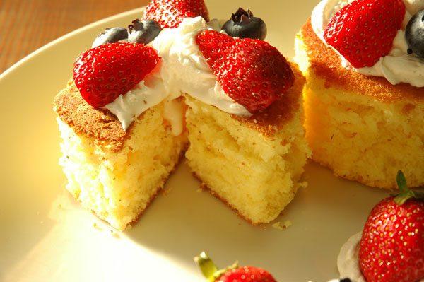 おうちでできる豪華なパンケーキ