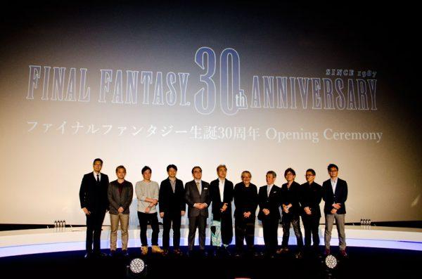 ファイナルファンタジー生誕30周年開幕セレモニーに豪華クリエーターが集結!