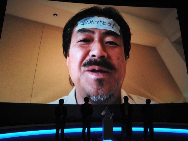 坂口博信氏のビデオメッセージ