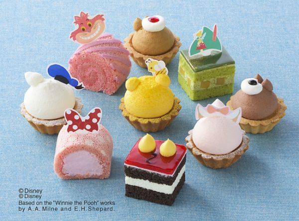 ミッキーの可愛いお尻がプチケーキに コージーコーナーよりディズニープチケーキセットでるよー!