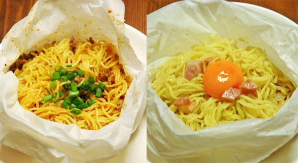 流行中のズボラ飯 『ペーパー焼きそば』が簡単&美味しい&洗い物も減って素晴らしい
