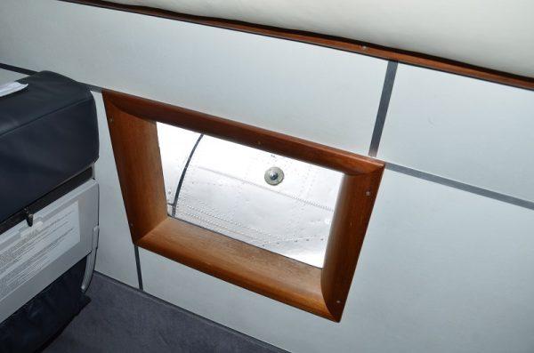 木製の窓枠