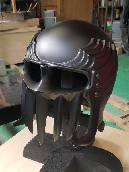 プロの戯れ 鎧甲冑の職人が遊びでジャギのヘルメットつくってみた