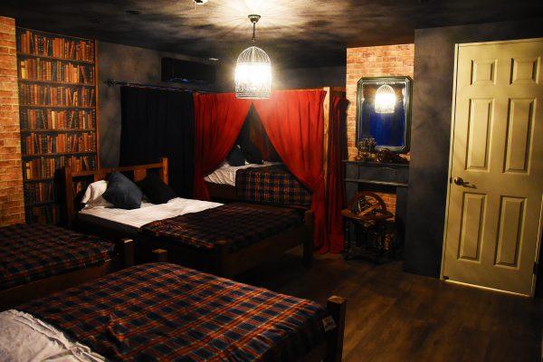 魔法学校をイメージした民泊施設が博多駅近くにオープン
