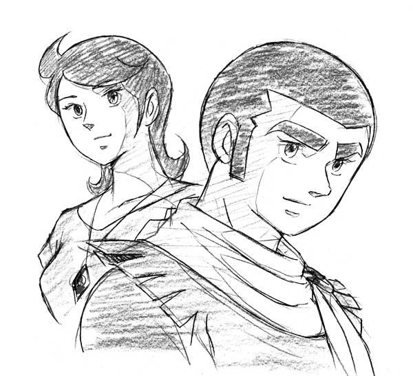 『超合体魔術ロボ ギンガイザー』白銀ゴロー&秋津ミチ