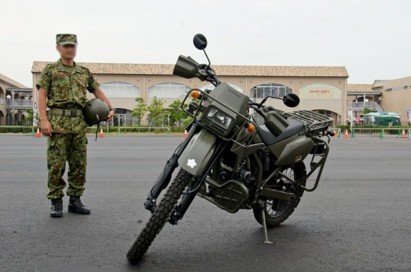 偵察用オートバイ(2013年の様子)