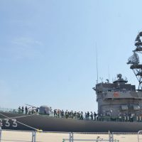 大洗「海の月間」イベント・護衛艦1日艦長にガルパ…