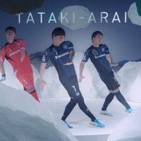 サッカー元日本代表・遠藤選手たちがキレッキレのPerfumeダンス披露