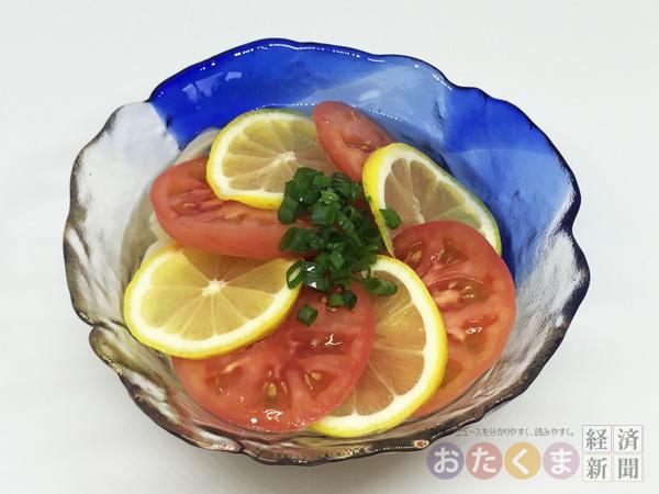 うどん愛好家ライターオススメの「トマトとレモンの爽やかうどん」