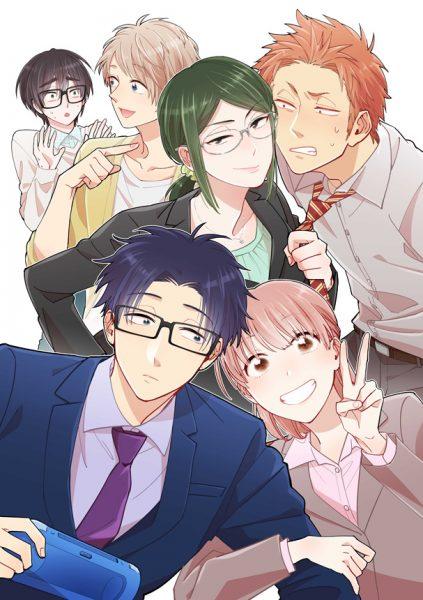 『ヲタクに恋は難しい』テレビアニメ化決定 ノイタミナ枠で2018年4月放送