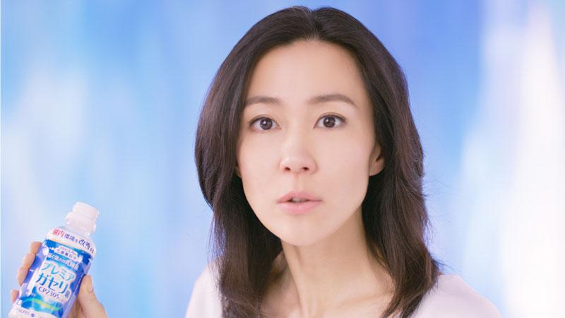 CM出演時の木村佳乃