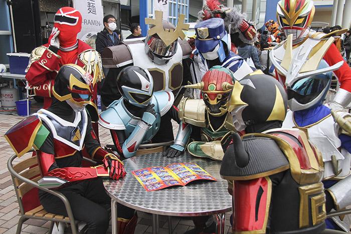 『日本ローカルヒーロー祭』95団体350キャラが参加 全国各地のローカルヒーローが千葉に大集結!
