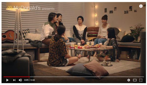 男女が共同生活しちゃう某ハウス風なWEBドラマ、マクドナルドが1日1話公開