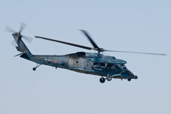 「救難最後のとりで」救難ヘリUH-60J