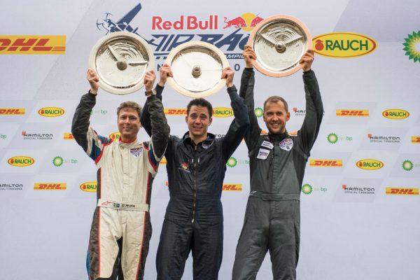 チャレンジャークラス年間表彰台(Joerg Mitter/Red Bull Content Pool)