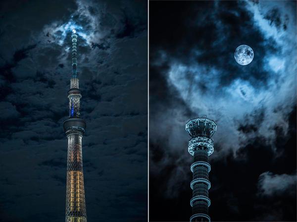 神秘と幻想の世界、中秋の名月に現る