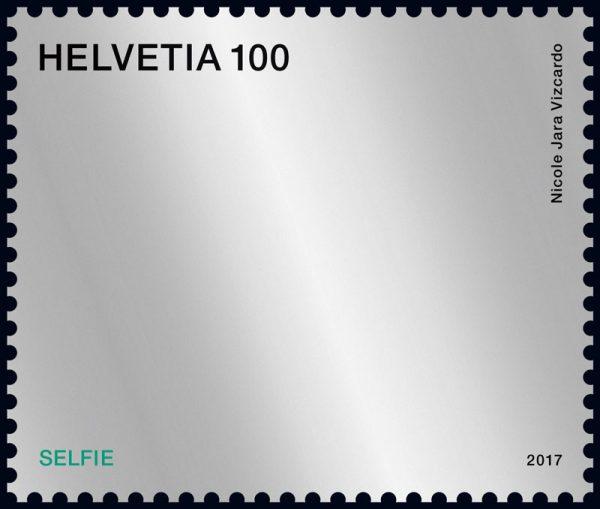 切手で自撮り? スイスのアイデア切手が面白い