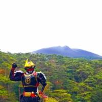「霧島は元気やっど!」薩摩剣士隼人が拡散希望 新燃岳噴火以降…