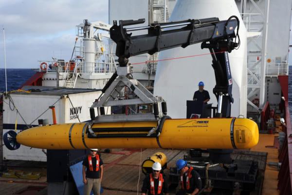 米海軍の無人潜水艇(画像:U.S.NAVY)