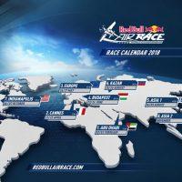 レッドブル・エアレース2018年スケジュール発表・アジア2ヶ…