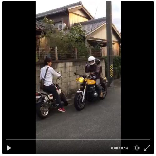 CMみたいに孫のバイクに乗せて貰うのが憧れ―CMに憧れたおばあちゃんと孫のほっこりエピソード