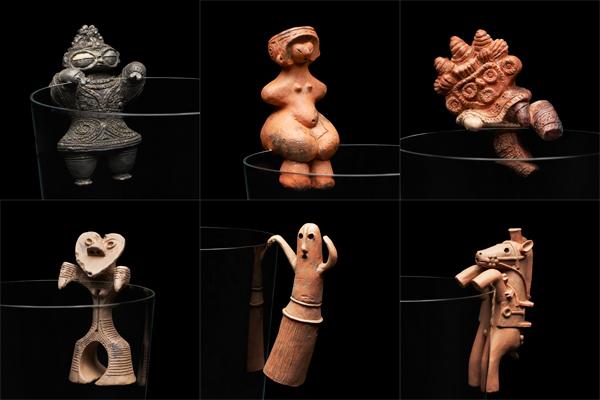 土偶と埴輪がコップのフチフィギュアに!セクシーすぎて土器土器な『縄文のビーナス』など全6種