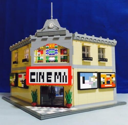 レゴで作られた映画館の造形がとっても緻密 ネットでは感嘆の声