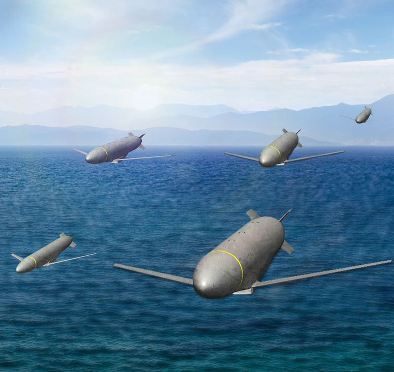 未来のミサイルは「群れ」で行動する?アメリカ空軍の新型巡航ミサイル