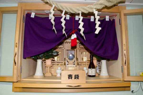 しらせ艦内神社