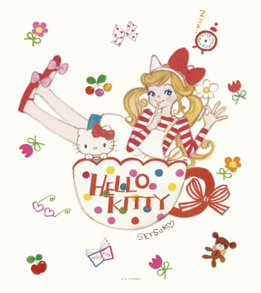 『月刊いちご新聞』イラストの田村セツコとサンリオキャラが初コラボ レトロ可愛いデザイン誕生!