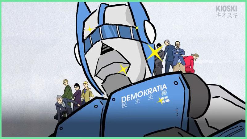 フィンランド人向けの選挙啓発のはずが…日本のアニメネタ満載に「どうしてこうなった」