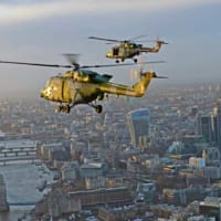 イギリス陸軍のヘリコプター・リンクスがラストフライトでロンド…