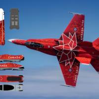 平昌五輪・カナダチームのボブスレーとスケルトンは戦闘機のデ…