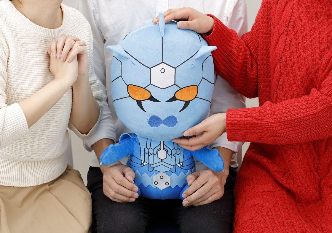 「仮面ライダー電王」ウラタロスが2頭身にデフォルメされぬいぐるみ化 僕に釣られてみる?